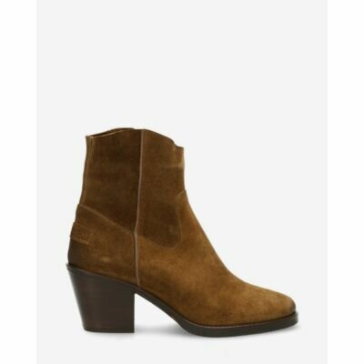 Heeled-ankle-boot-waxed-suede-warm-brown