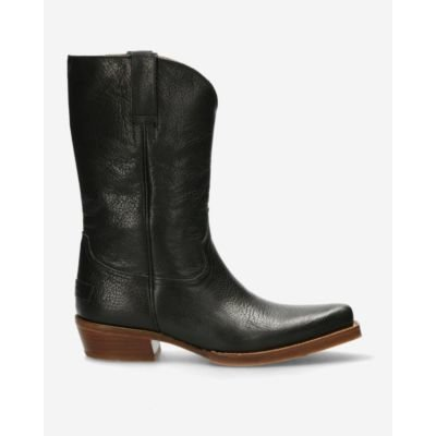 Western-boot-black-grain-leather-