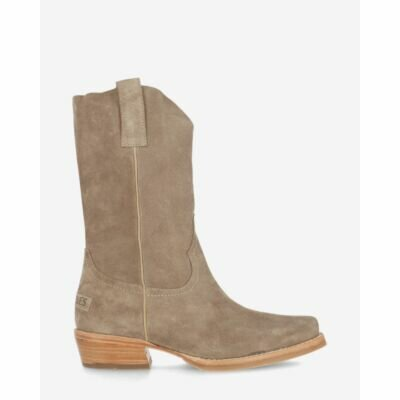 Westernboot-suede-taupe