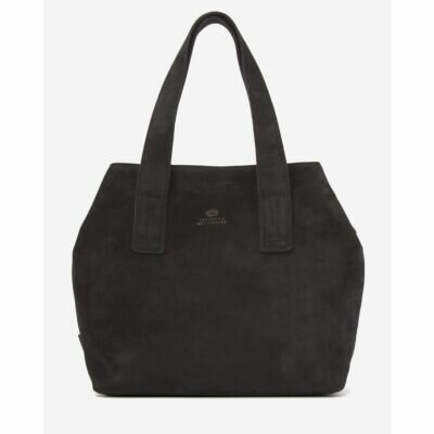 Shoulderbag-suede-black