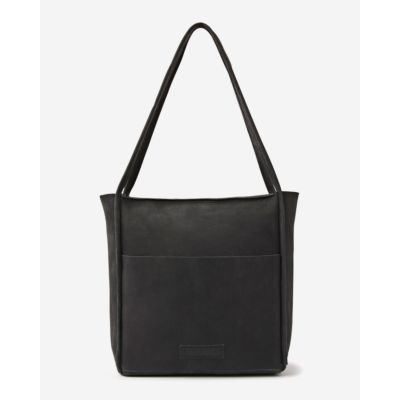 Shoulderbag-hand-buffed-leather-antracite