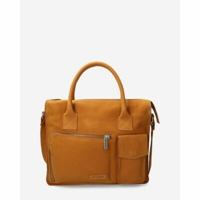 Businessbag-waxed-grain-leather-cognac