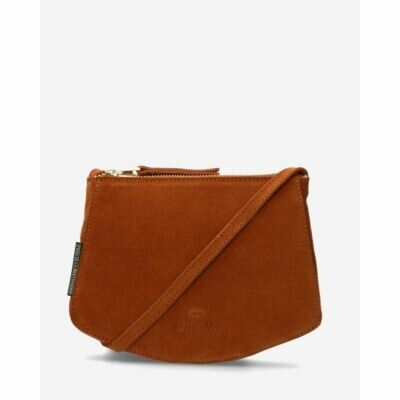 Small-crossbody-bag-suede-cognac