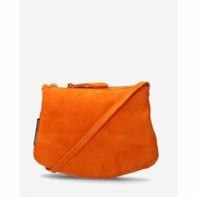 Small-crossbody-bag-suede-orange