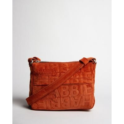 Terracotta-brown-suede-shoulder-bag