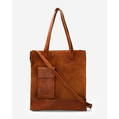 Large-shopper-waxed-suede-orange