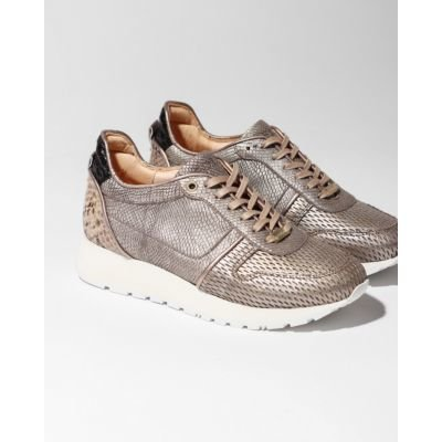 Sneaker-printed-leather-Taupe