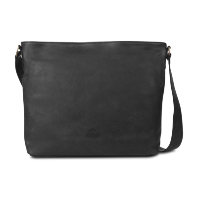Cross-body-handgeschuurd-leer-super-zwart