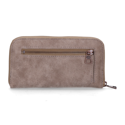 85ab1e1009a Wallet medium hand buffed leather Taupe
