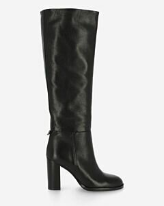 Boot smooth leather black