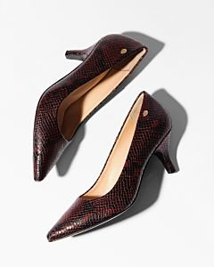 PUMP-5,5-CM-SNAKE-PRINTED-LEATHER-Aubergine