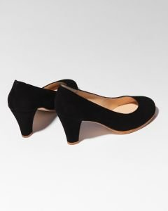 Pump-suede-black-