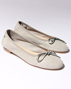 Ballerina-metallic-printed-suede-Light-Grey