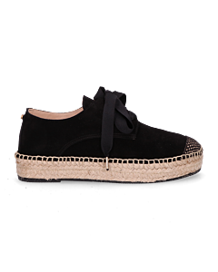 Lace-up-espadrille-suede-Black