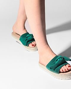 Espadrille-slipper-suede-green