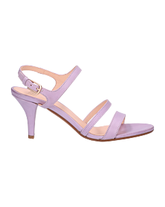 Sandalette-smooth-leather-Lilla