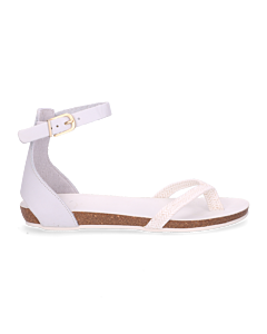 SANDAL-CORK-FOOTBED-2-CM-WITH-WOVEN-TEXTILE-COMBI-Off-White