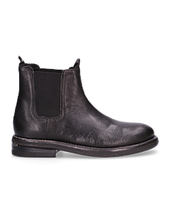 Ankle-boot-smooth-leather-Black