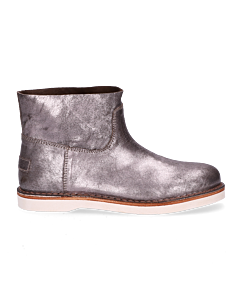 Ankle-boot-metallic-leather-Silver