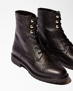 Lace-up-boot-grain-leather-black