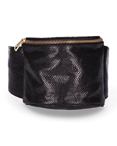 Hip-bag-shiny-printed-leather-black