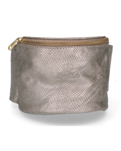 Hip-bag-shiny-printed-leather-taupe