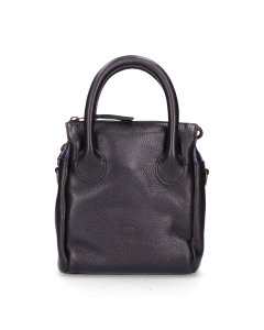 Handbag-small-smooth-leather-black