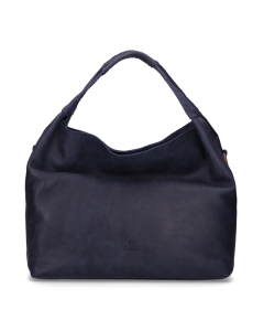 Handbag-hand-buffed-leather-Dark-Blue