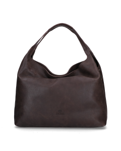 Handbag-hand-buffed-leather-Dark-Brown