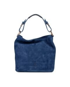 Shoulderbag-smooth-leather-Kobalt-Blue