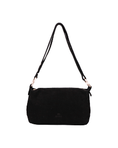 Shoulderbag-cutted-grain-leather-Black