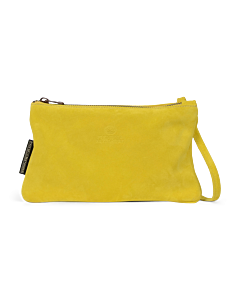 Shoulderbag-suede-mustard-yellow