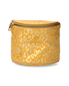 Marianneke-evening-bag-printed-suede-Yellow