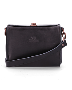 Schoulder-bag-smooth-leather-Black