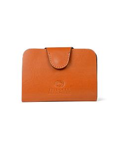 Wallet-small-leather-with-snap-closure-cognac