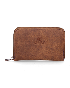 Wallet-small-hand-buffed-leather-Brown