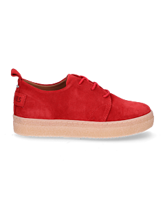 Kids-lace-up-shoe-suede-28-till-35-red-
