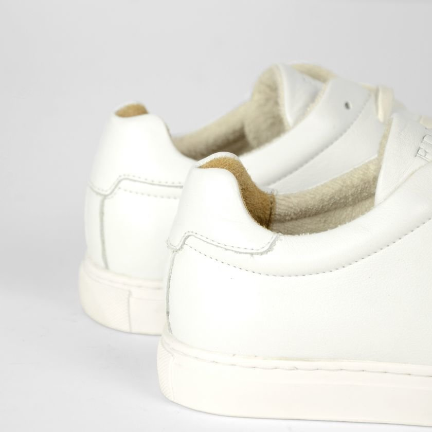 SNEAKER-LOW-SMOOTH-LEATHER-White