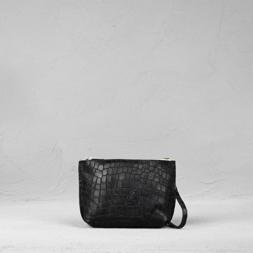 Cross-body-small-printed-leather-Black