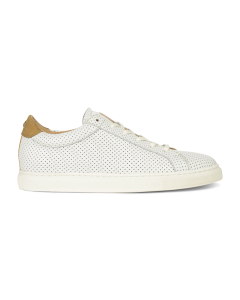 Sneaker-perforated-smooth-leather-white-taupe