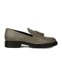 Loafer-lizzard-printed-leather-Taupe