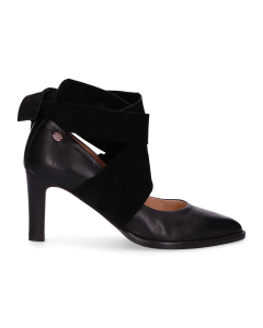 Pump-soft-smooth-leather-with-velvet-Black