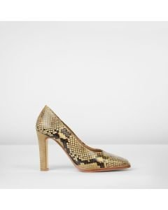 Square-pump-high-leather-snake-print-taupe