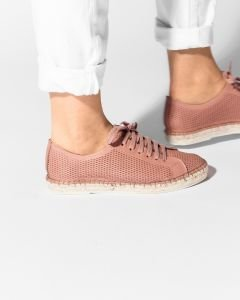 Lace-up-espadrille-cutted-smooth-leather-Soft-Rose-