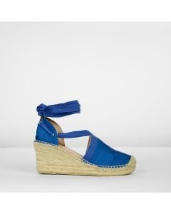 Espadrille-wedge-silk-cobalt-blue