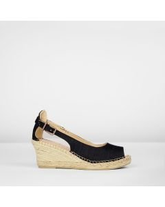 Espadrille-wedge-silk-black