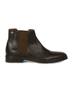 Chelseaboot-printed-leather-Brown
