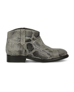 Ankle-boot-snakeprinted-leather-Taupe