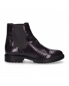 Ankle-boot-printed-patent-leather-Dark-Grey