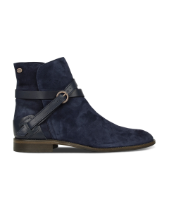 Ankle-boot-luxury-suede-Blue